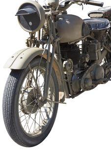 Free Vintage Motorcycle Stock Image - 15997621