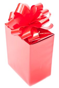 Free One Red Present Stock Photo - 15997860