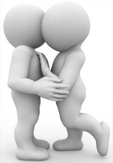 Free Hugging Royalty Free Stock Images - 15998139