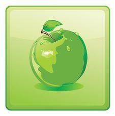 Free Green Apple Royalty Free Stock Photos - 15998328