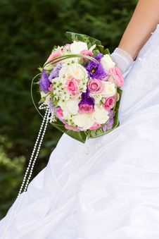 Free Colorful Wedding Bouquet Royalty Free Stock Images - 15998599
