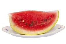 Free Watermelon On Plate Stock Images - 15999844