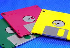 Free Floppy Disks Royalty Free Stock Photo - 161945