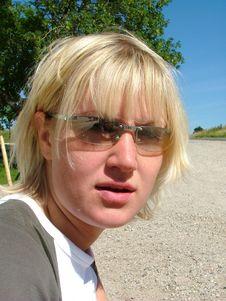 Free Blond Girl Royalty Free Stock Photos - 162558