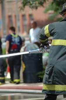 Free Firemen Royalty Free Stock Image - 163346