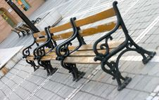 Free Benches Royalty Free Stock Image - 163776