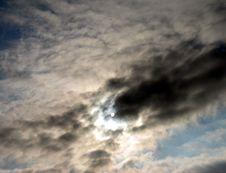 Free Hidden Sun Royalty Free Stock Image - 164816