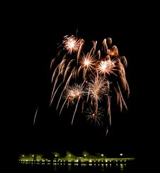 Free Fireworks [5] Royalty Free Stock Photo - 165615
