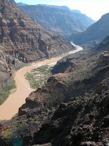 Free Muddy Colorado River Royalty Free Stock Image - 166886