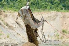 Free Dumping Bucket Stock Image - 167221