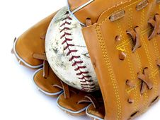 Free Ball And Glove 2 Stock Image - 168451