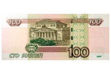 Free 100 Russian Roubles Royalty Free Stock Photography - 168557