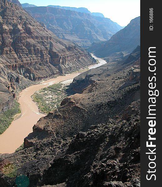 Muddy Colorado River