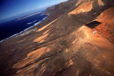 Free Hanggliding At Lanzarote 3 Royalty Free Stock Image - 1600286
