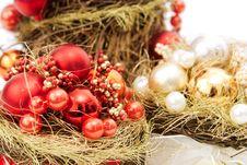 Free Christmas Globes Nest Stock Photos - 1601023
