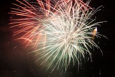 Free Close-up Fireworks Royalty Free Stock Images - 1601699