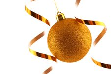 Free Christmas Bauble Stock Photography - 1601752