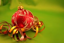 Free Christmas Bauble Stock Photography - 1601802