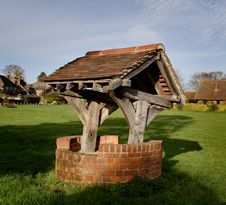 Village Well Royalty Free Stock Photos