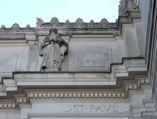 Architectural Detail Of Saint Paul Stock Images