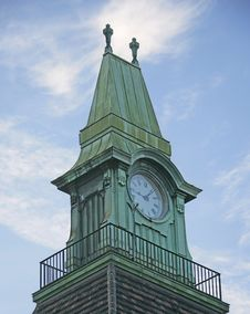 Free Old Clock Turret 4 Royalty Free Stock Photo - 1602475