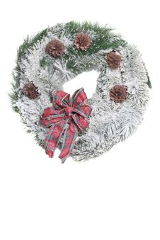 Free Frosted Wreath Stock Photo - 1603120