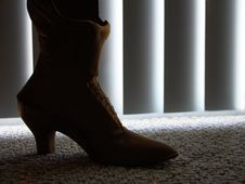 Free Womans Boot 2 Royalty Free Stock Image - 1603576
