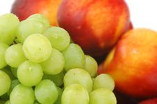 Free Peaches And Grape 05 Stock Photos - 1603683