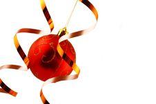 Free Christmas Bauble Stock Image - 1604831