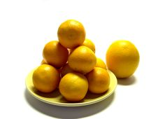 Tangerines And Oranges Royalty Free Stock Images