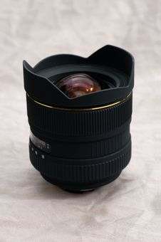 Free Wide Angle Zoom Lens Royalty Free Stock Images - 1605359