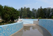Brand New Swimming Pool Royalty Free Stock Photography