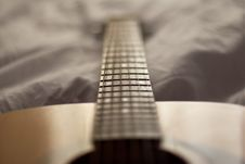 Free Guitar Detail Royalty Free Stock Photos - 1606718