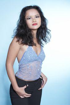Free Portrait Of Asian Woman. Fashion Royalty Free Stock Photos - 1607048