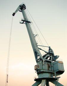 Free Crane Royalty Free Stock Photo - 1607275