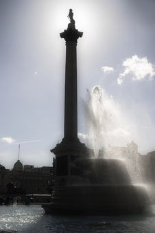Free Nelson Column Royalty Free Stock Photography - 1607407