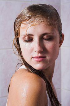 Free Wet Woman Royalty Free Stock Image - 1608836