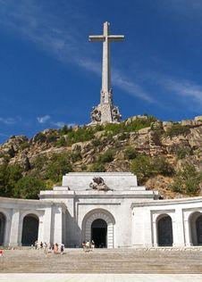 Free Basilica - Valley Of Fallen Near Madrid 2 Stock Photos - 1608843