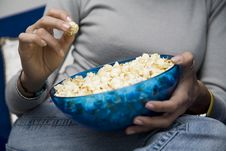 Free Movie Night Stock Image - 1609081