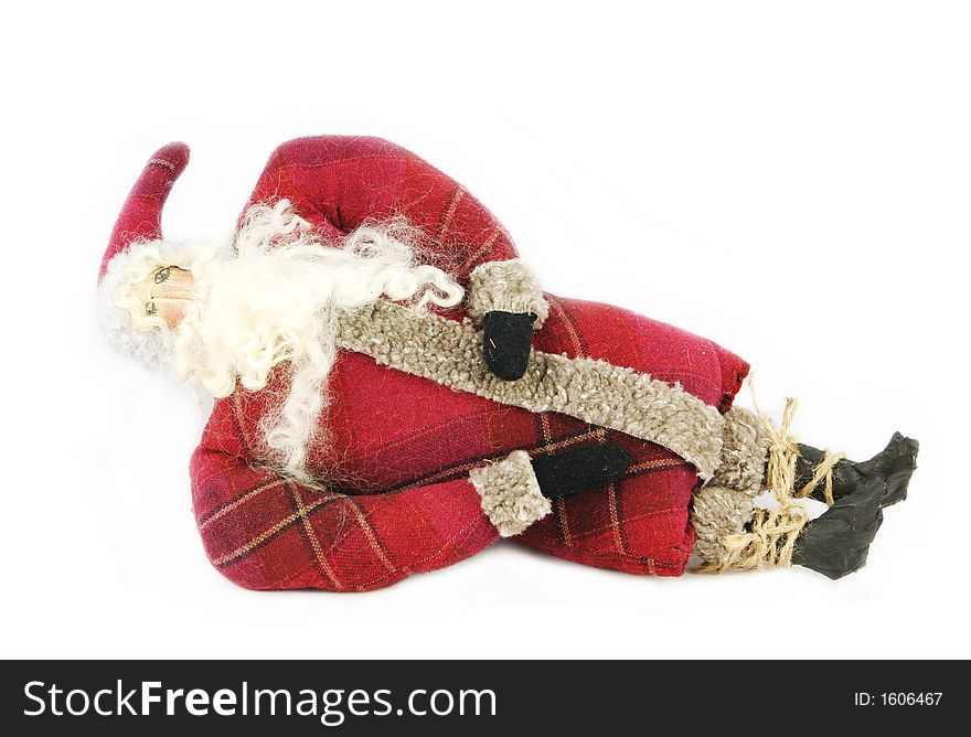 Reclining Santa
