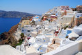 Free Landscape View In Santorini Royalty Free Stock Images - 16007299
