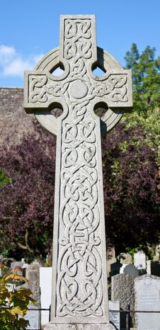 Celtic Crucifix Stock Image