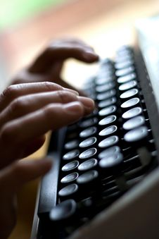 Free Typewriting Stock Photos - 16000353