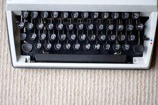 Free 1980s Typewriter Royalty Free Stock Images - 16000439