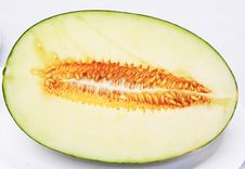 Free Half A Melon Royalty Free Stock Images - 16000709