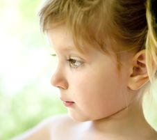 Free Close-up Portrait Of A  Girl Stock Images - 16002844