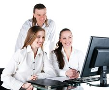 Free Contemporary Business  Team Royalty Free Stock Photography - 16002917