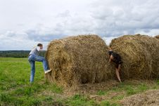 Free Haystack Royalty Free Stock Image - 16003136