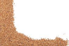 Free Buckwheat On A White Background Stock Photo - 16003200