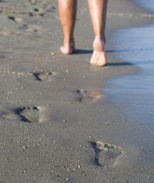 Free Beach, Feet Stock Photo - 16003320